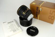 Nikon Nikkor AF-S Nikkor 85mm f/1.4 G N Guter Zustand