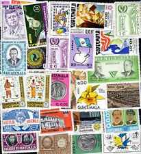 Guatemala 100 timbres différents