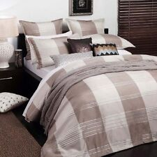 Taylor Driftwood Duvet | Doona Quilt Cover Set by Logan & Mason | 5 piece | King