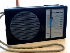 TOSHIBA AM Pocket size Radio RP-85. Works. Made in Japan.
