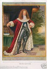 Frederick William Grosse Kurfurst Great Elector Brandenburg Prussia CARD 1933