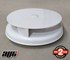 WHITE Rotating Vehicle Wind Driven Roof Vent / Ventilator VAN / TRUCK / TRAILER