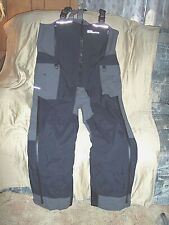 Mens Large Goretex Bib Overalls Fishing Bibs Guide Wear Lined Bibs Waterproof