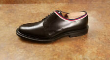 New! Gucci 'Beyond' Black Leather Derby Shoes Mens Size 8.5 US 7.5 UK MSRP $890