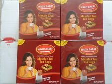 Wagh Bakri Masala Tea Bags 100 x 4 BOXES (400) Indian Special Blend Staple Free