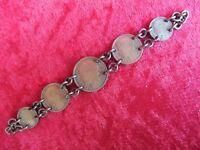 schönes, altes Armband __aus alten , französischen Münzen 1931-1941_ !
