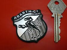 Abarth Escudo Estilo Autoadhesiva insignia del coche de corte láser Para Fiat Simca Alfa 500