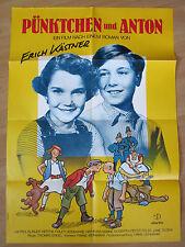 Filmposter * Kinoplakat * A1 * Pünktchen und Anton * WA 70er