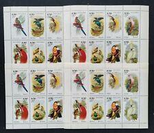 OMAN-Birds-Parakeets -1 M/Sh.Perf.MNH,O- 042
