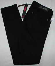 NEW Rock & Roll Skinny Jeans Black Womens Tag size 28x32 28x30.5 Cowgirl Denim