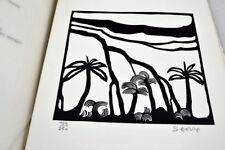 AUBRY, Gilbert  Images d'Alizé 1972 Ile de la Réunion 13 linogravures de SÉGURA