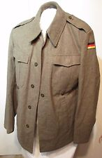 """West Germany Military Uniform Field Jacket Wool 36""""chest Men's Small"""