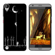 Soft TPU Silicone Case For HTC Desire 530 630 Phone Back Covers Skins Cats
