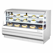 "Turbo Air Tcgb-72Dr-W(B) 72"" Non-Refrigerated Bakery Display Case"