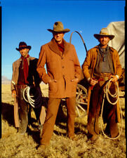 BRUCE BOXLEITNER JAMES ARNESS GREGORY HARRISON RED RIVER CBS PHOTO TRANSPARENCY