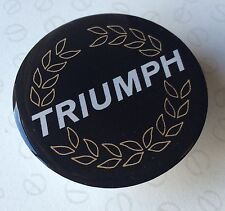 46MM TRIUMPH WHEELS WHEEL CAP RESIN 3D DOME BADGE SLOT MAGS ACCLAIM L HL HLS