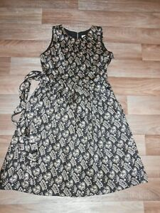 RACHEL RILEY BLACK CROWN DRESS EXCELLENT CONDITION 12 YEAR OLD FULLY LINED