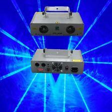 600mW Double Lens Blue DMX Stage Laser Lighting  DJ Party Laser Light