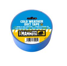 Everbuild Mammoth Temps Froid Adhésif | bleu | 50 mm x 50 m | Indoor & Outdoor