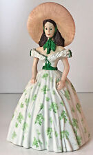 San Francisco Music Box Gone With The Wind Ltd Edition Scarlett in Picnic Dress