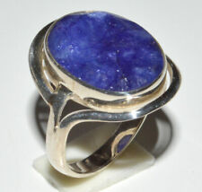 Indian Sapphire 925 Sterling Silver Ring Jewelry s.6.5 JB14425