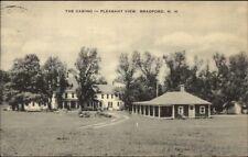 Bradford NH Pleasant View Casino Postcard