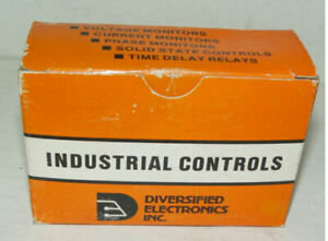 New Diversified Electronics TUD-120-AKA-300 Time Delay Relay 3-300 Second Timer