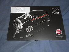 2014 Fiat 500 Gucci Special Edition USA Market Brochure Card Prospekt