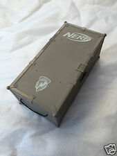 NERF NStrike Elite - GREY Ammo box - can hold up to 300 darts - buzzbee storage