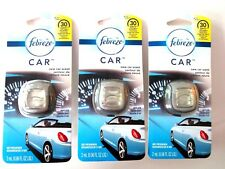 Febreze Car Vent Clip NEW CAR SCENT Air Freshener - 3 PACKS