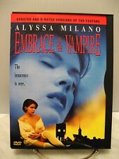 DVD EMBRACE OF THE VAMPIRE Widescreen Fullscreen Movie - NUDE Alyssa Milano