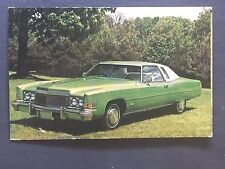 1974 CADILLAC promotional postcard (for dealers use)........EVER OWN ONE????