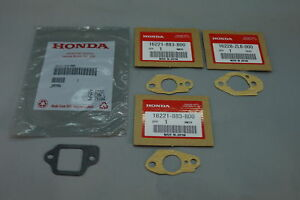 GENUINE HONDA CARBURETOR GASKET SET 16221-883-800 16228-ZL8-000 16212-ZL8-000