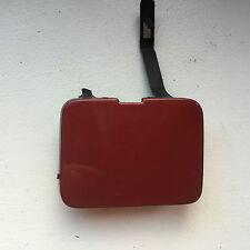 RENAULT LAGUNA ESTATE REAR BUMPER TOWING HOOK EYE COVER CAP RED /MAROON (R65)