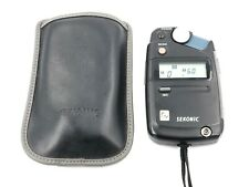 Sekonic Flashmate L-308B Digital Light Meter with Case  - Incident - Reflected