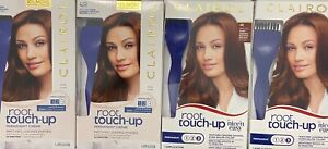 **NEW** 4 CLAIROL ROOT TOUCH UP PERMANENT HAIRCOLOR #4R DARK AUBURN/REDDIS BROWN
