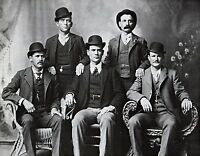 """1900 PHOTO, The Wild Bunch Gang, OUTLAWS OLD WEST Print, 14""""x11"""""""