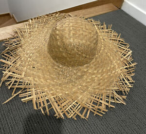 Lack of Color straw Beach hat Size s NEW