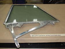 OEM 64 Cadillac Coupe DeVille LEFT REAR QUARTER WINDOW GLASS FRAME #5718421
