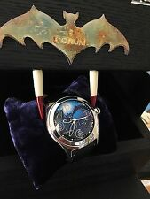 Rare Limited Ed. Corum Bubble Bats Batman 45mm Watch Box Papers & Extra Bands