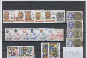 (FY80) Vatican 1980 yearset MNH ** FREE POSTAGE  **