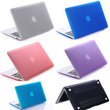 """Case + soft  keyboard Cover For Macbook 11"""" 12"""" 13"""" 15"""" or  Screen protector"""
