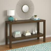 Console Table Decorative Entryway Table Top Office Shelf Storage Multiple Colors