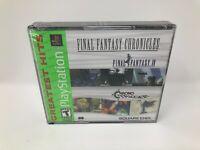 Final Fantasy Chronicles: Final Fantasy IV & Chrono Trigger PlayStation PS1 New