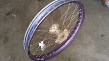 Front Wheel Hub Spokes Rim off a Yamaha TTR250 TTR 250 1995 95 DT200R ? XT225 ?