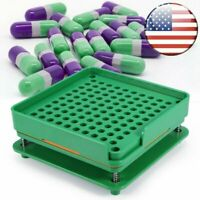 Easy to Use 100 Holes Capsule Machine Size 00# Manual Empty Capsul Filling Tray