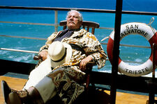 Peter Ustinov As Hercule Poirot Death On The Nile 11x17 Poster On Board Boat