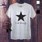 David Bowie Black Star Camiseta Para Hombre Mujer Ajustado Manga Larga Negro Sin