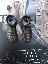 Hot Toys MMS346 Star Wars Force despierta Finn Brown Botas al Tobillo Suelto 1:6