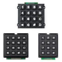 4x4 4x3 Matrix Array 4*4 4*3 Switch Keypad Keyboard Module for  BK